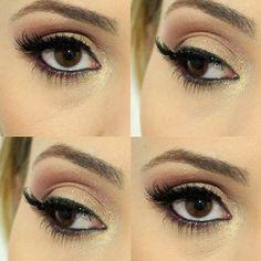 tutorial de maquiagem com cores neutras e brilho especial para usar no dia dos namorados