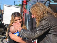 Robert Plant and an infant fan <3