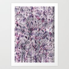 Growth Art Print by Jo Cheung Illustration - $15.08