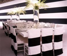 Black and White Wedding Décor, Wedding Fashion, Tabletop, Registry, Using Black & White at Your Wedding, Ideas || Colin Cowie Weddings
