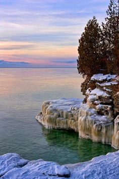 A Quiet Morning, Lake Michigan