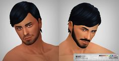 Wave Rider mesh edited SP03 hair for males by Xld_Sims at SimsWorkshop via Sims 4 Updates  Check more at http://sims4updates.net/hairstyles/wave-rider-mesh-edited-sp03-hair-for-males-by-xld_sims-at-simsworkshop/