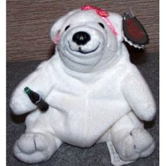 Coca Cola Polar Bear In Pink Bow Bean Bag #0110 (Toy) http://www.amazon.com/dp/B000BRSNOW/?tag=mnnean-20 B000BRSNOW
