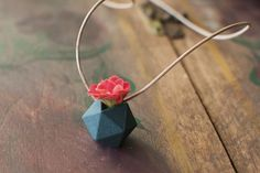 """""""Wearable Planters Turn Live Plants into Jewelry"""". Jewelry design by Colleen Jordan. Article by Melissa Breyer."""