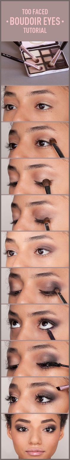 Smoke 'em! Sultry Eyes in Minutes with Too Faced's Boudoir Eyes Palette