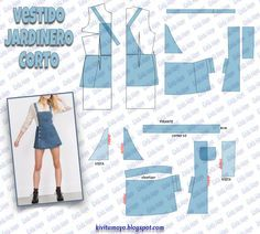 Amazing Sewing Patterns Clone Your Clothes Ideas. Enchanting Sewing Patterns Clone Your Clothes Ideas. Sewing Dress, Dress Sewing Patterns, Sewing Clothes, Clothing Patterns, Fashion Sewing, Diy Fashion, Ideias Fashion, Fashion Ideas, Work Fashion