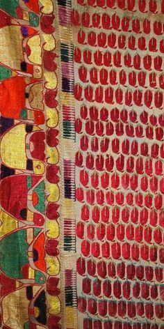 Antique Large Sindh Wedding Shawl or Abochani