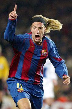 """Maxi López"" Maximiliano Gastón López, born 3 April 1984, Argentine striker, FC Barcelona (2005-2007)"