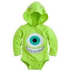Mike Wazowski Disney Cuddly Bodysuit Costume for Baby