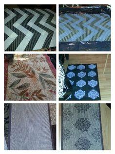 My rug re-do's