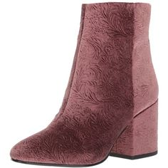 Sam Edelman Women's Taye Ankle Bootie ($68) ❤ liked on Polyvore featuring shoes, boots, ankle booties, short boots, sam edelman bootie, chunky heel ankle booties, almond toe boots and chunky heel booties