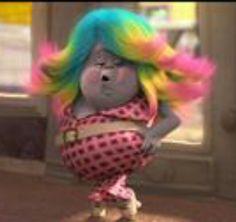 Lady Glitter Sparkles-Trolls