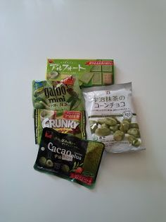 Matcha sweets- A Japanase snack review