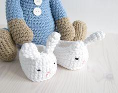 Crocheted pajama bear