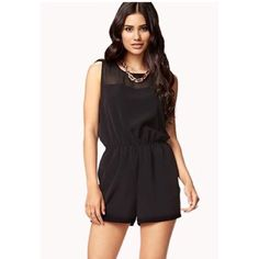 Forever 21 Romper Forever 21 Romper with Chiffon Detail Forever 21 Other
