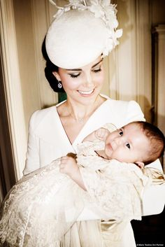 Check out Princess Charlotte's official christening photos!