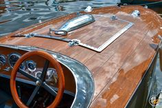 Bugbite is a 17 ft traditional was built in 2019 by Kevin Fitzke to the original and much-loved 1935 design by A. The plans for Apel's design were Wooden Speed Boats, Wood Boats, Boat Restoration, Classic Wooden Boats, Garage, Custom Harleys, Boat Design, Boat Plans, Boat Building
