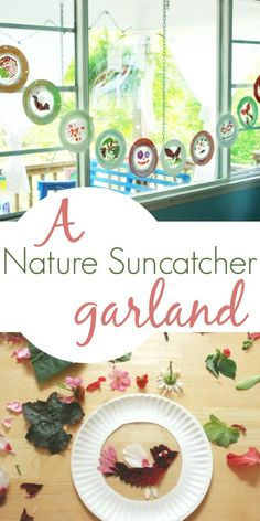 The Perfect Leaf/Flower Suncatcher Craft for Kids