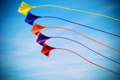 Kites flying!