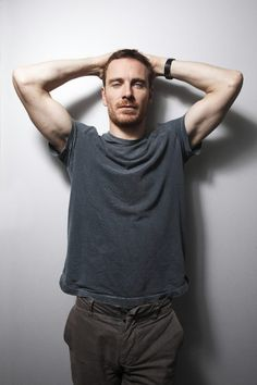 """The ultra-sexy Michael Fassbender, GQ's Breakout Man of the Year and the star of the critically-acclaimed """"Shame,"""" out this weekend. Love."""