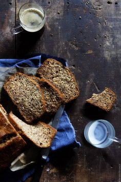 Toasted Pecan & Coconut Banana Bread | Bakers Royale @bakersroyale