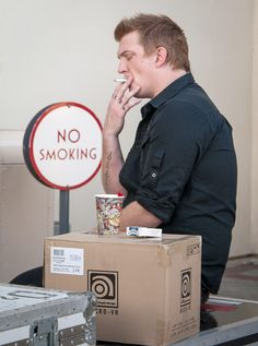No Smoking Josh Homme. I hate smoking, but damnit Mr Homme just pulls it off and makes it sexy!