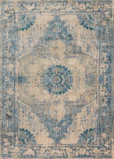 Joanna Gaines' modern take on antique Persian rugs. - Power Loomed…