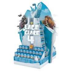 Theatralisation Ice age Exhibition Display Stands, Pos Display, Display Design, Booth Design, Pos Design, Retail Design, Totoro, Pallet Display, Cardboard Display