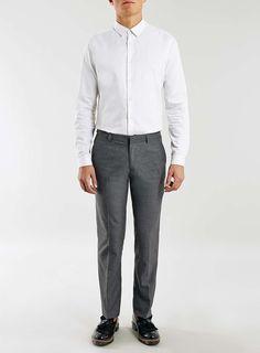efcbdfdd60d7 Grey Slim Fit Pants - Suit and Smart Pants - Suits