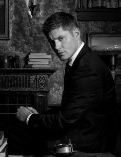 Usually, it's what a suit does to a man. This time it's what Dean Winchester does to that suit.
