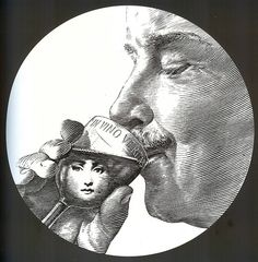 Piero Fornasetti - Tema e Variazoni - Theme & Variations - Lina Cavalieri. Illustrations Vintage, Piero Fornasetti, Italian Painters, Workshop, Art Dolls, Creative, Pop Art, Art Pieces, Objects