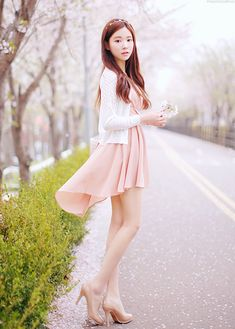 Super Cute Korean Clothing For Women This dress is super cute