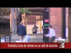 Dramática toma de rehenes en un café de Australia