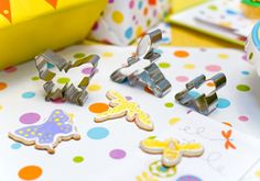 Bumble bee, butterfly and dragonfly cookie cutters by shoppemom, via Flickr