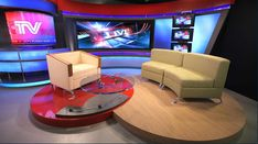 CCTV Russia - Moscow, Russia - Talk Shows Set Design - 1