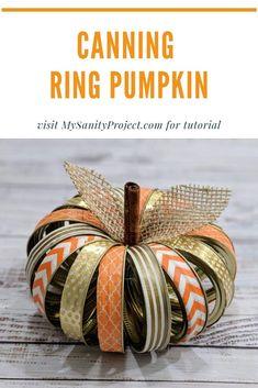 Canning Ring Pumpkin -