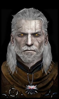Geralt of Rivia by Atypicalgamergirl