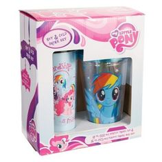 My Little Pony Friendship is Magic Travel Cold Cup With Straw MLP 16 oz New Mint