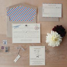 Partecipazioni tema viaggio cartolina vintage. Wedding invitations travel theme. #wedding #wedding invitations