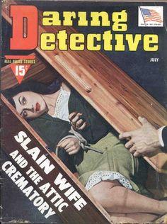 Daring Detective - July, 1942