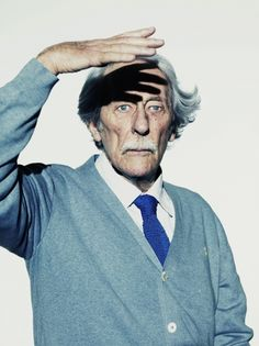 """These portraits by Nadav Kander of the venerable French actor Jean Rochefort—star of the new Fernando Trueba film, The Artist and the Model—took first place in the category of """"Professional, Personality"""" in the 2011 International Photography Awards. Jean Rochefort, International Photography Awards, Graphisches Design, Layout Design, Films Cinema, Fritz Lang, Photo Awards, Poster Design, Editorial Layout"""