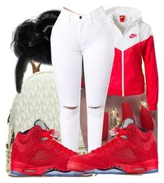 """""""Untitled #452"""" by lowkeysavage11 on Polyvore featuring NIKE"""