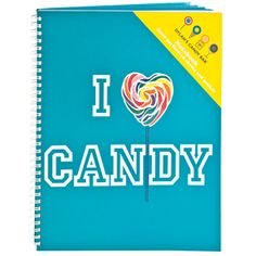 I Love Candy - Dylan Candy Bar Notebook