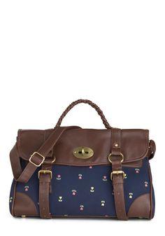 Test Prep Satchel   Mod Retro Vintage Bags   ModCloth.com
