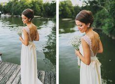 Such a pretty dress.