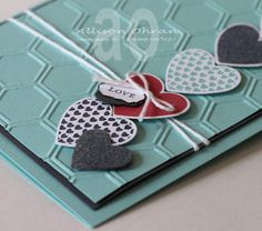 I'm loving this card!  and how easy to make into Get Well, Birthday or even Happy Anniversary!  @Stampin' Up!