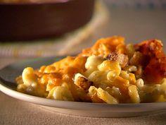 Spicy Macaroni and Cheese from FoodNetwork.com...Delicious side dish for Thanksgiving!