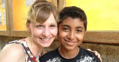 Meeting her sponsored child in Nicaragua gave Lorie Lee answers she'd been looking for and inspiration for a children's book.