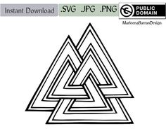 Valknut Tattoo Designs Valknot valknut tattoo design free to use by marleenabarrandesign