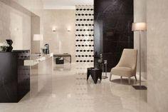 Gres porcellanato effetto marmo per superfici preziose in hotel e spazi contract